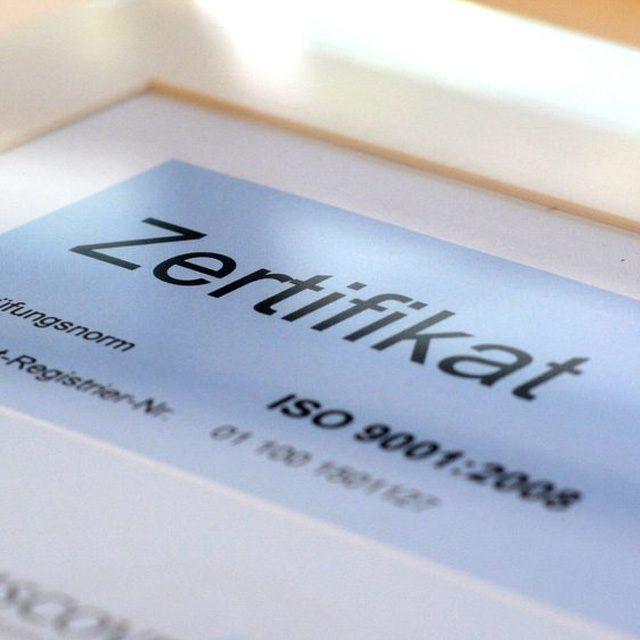 TÜV-Rheinland-geprüftes Qualitätsmanagement bei Discover White!